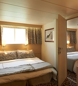 Outside Cabin XL - MV Ocean Diamond